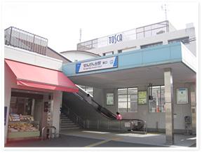 せんげん台駅からのアクセス写真1