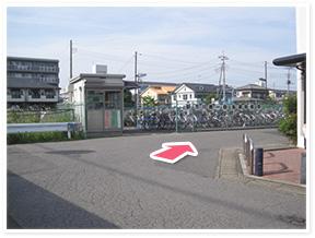 せんげん台駅からのアクセス写真3