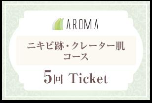 ニキビ跡・クレーター肌コース【5回分】チケット